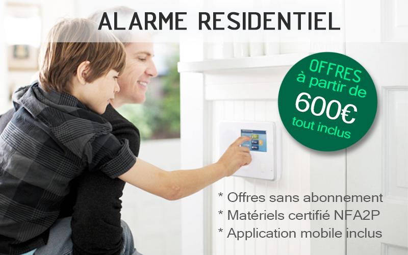systèmes d'alarme sans fil à Montpellier